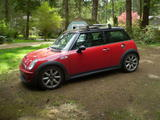 2004 Mini Cooper S Red mike richner